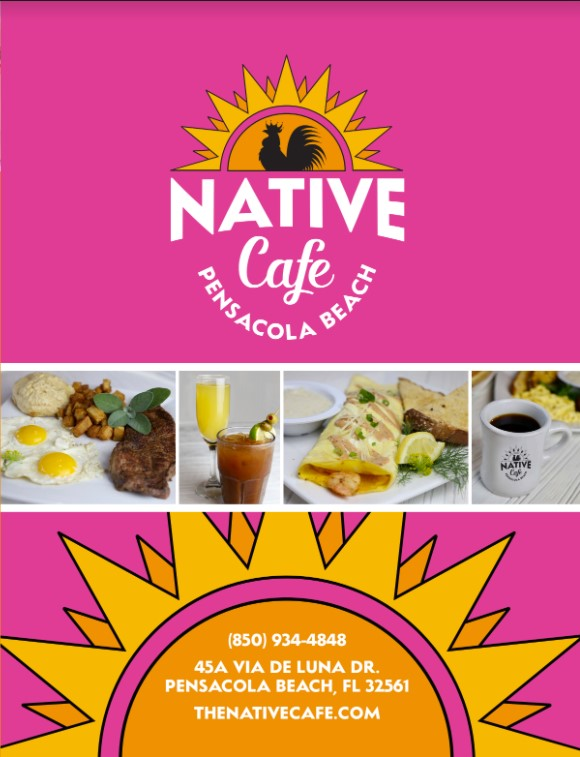 Native Cafe Menu