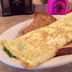 The Spinach Feta Omelet
